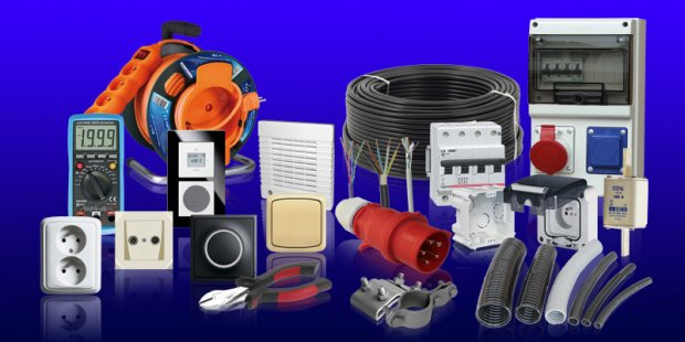 SALES OF ELECTRIC MATERIALS PRODUCT RANGE